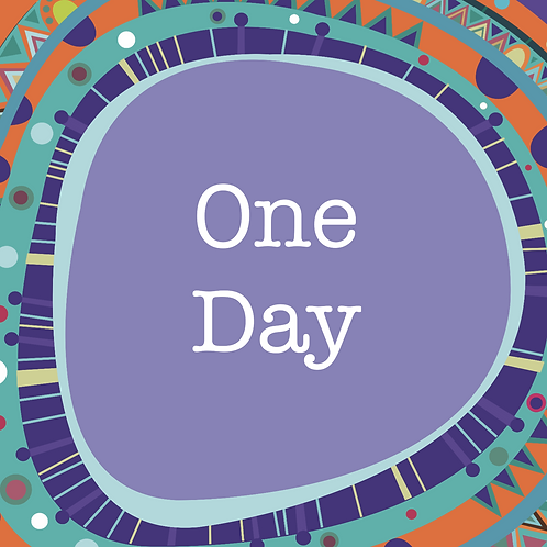 One Day Workshop Pass