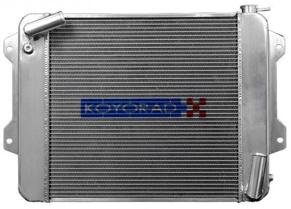 Koyorad Aluminum Crossflow Racing Radiator