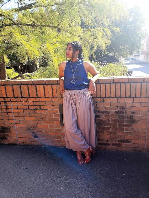Upcycled Skirt to Pants