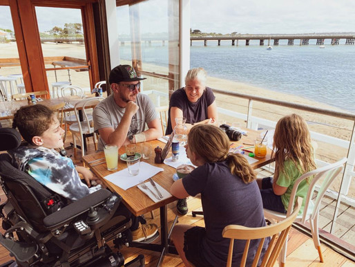 Our Top 3 Wheelchair Accessible Cafes In Barwon Heads.  Hold On!  Make that Top 2 With a Twist.