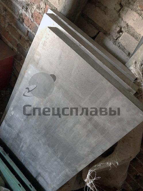 Плита титановая ВТ1-0  60мм