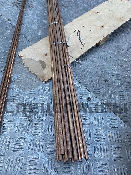 Пруток бронзовый БрБ2 ⌀7,0 мм