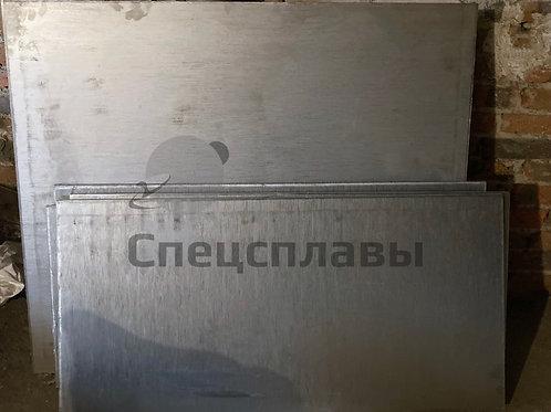 Плита титановая ПТ3В  12 мм