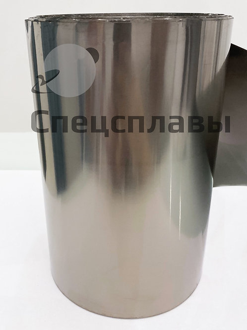Фольга титановая ВТ1-0  0,05 мм