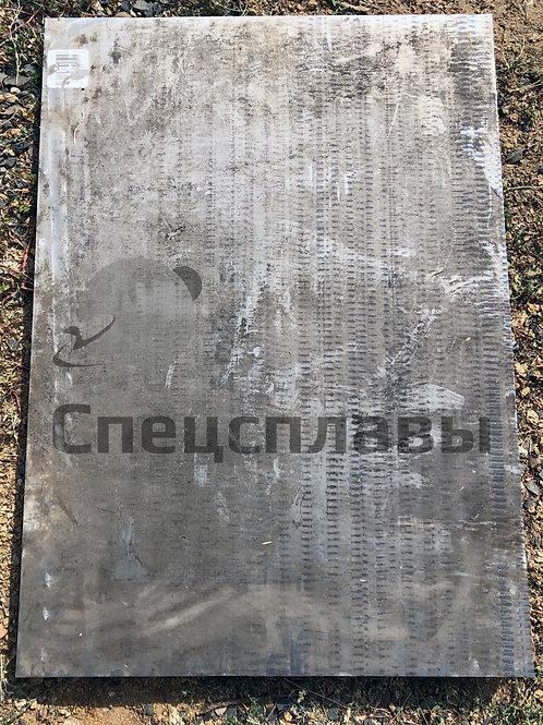 Плита титановая ВТ22 45 мм