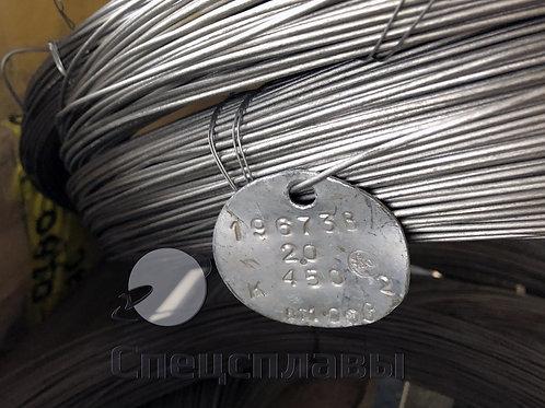 Проволока титановая ВТ1-00  2 мм