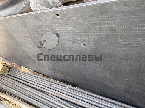 Плита титановая ПТ3В  21 мм