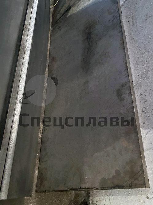 Плита титановая ПТ3В  25 мм