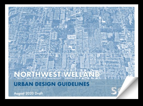 Northwest Welland Urban Design Guideline