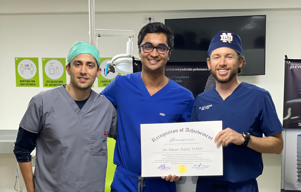 June 2021 Mexico Live Surgery Course
