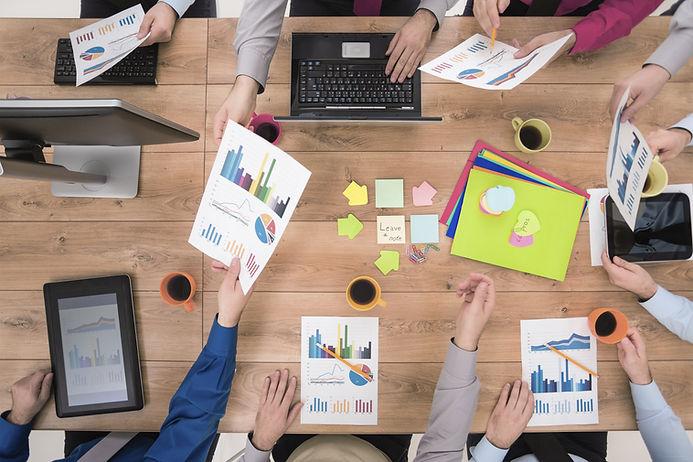 travail en équipe dans une entreprise