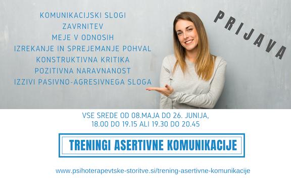 Prijavite se na treninge asertivne komunikacije