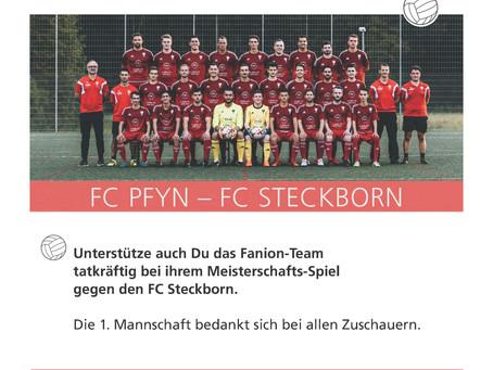 Derby gegen Steckborn