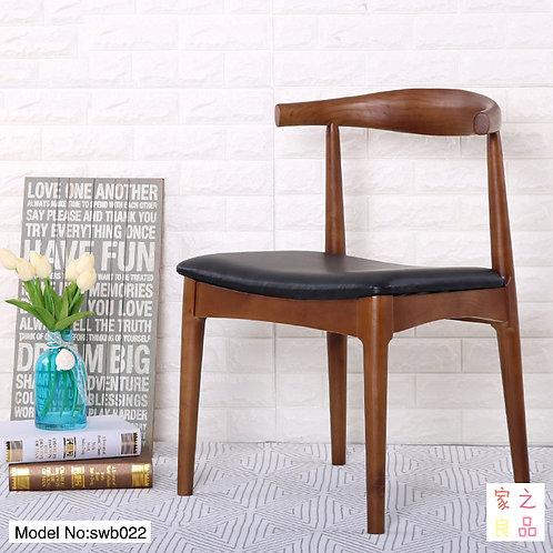 (不單賣)實木椅  牛角椅/書椅/廣島椅可選 靠背護腰 優質坐面  (需要自己組裝)(約13至15天送到)