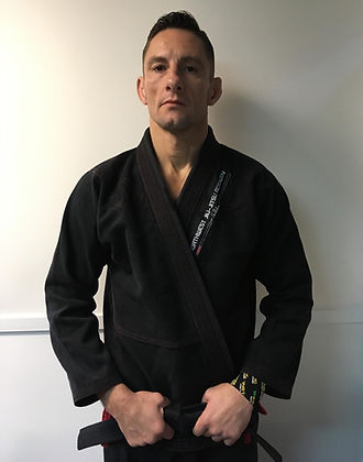 A picture of Brian J. Johnson, owner and head intructor at Northwest Jiu-Jitsu Academy