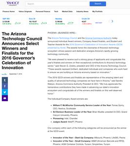 Yahoo Finance AZTC Article
