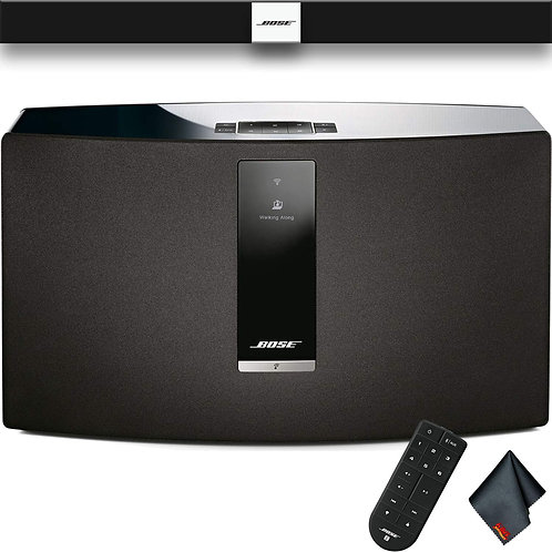 Bose® - SoundTouch® 30 Series III Wireless Music System - Black &White