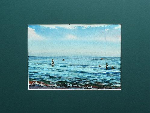 """Картина """"Море август"""""""