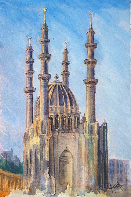 "Картина ""Мечеть Гейдара"""