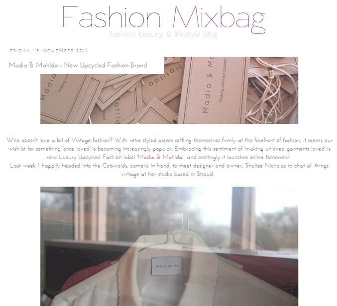 Fashion Mixbag Press Madia Matilda