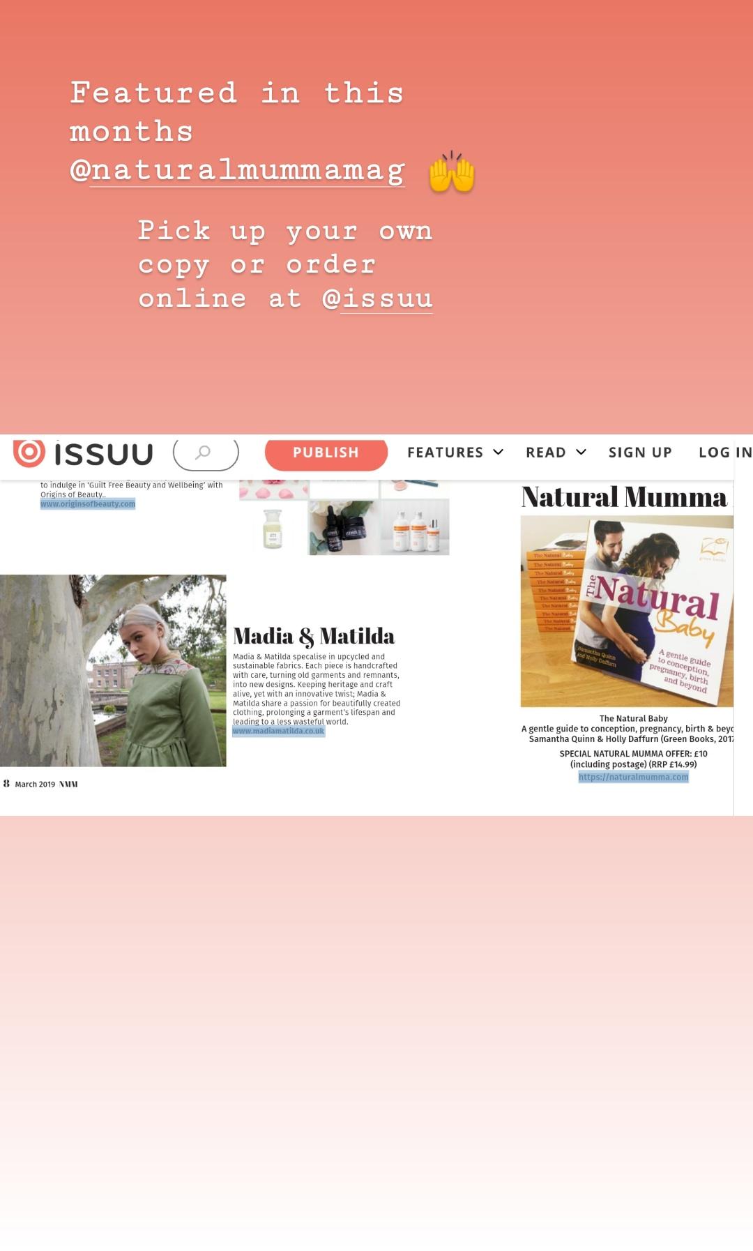 Natural Mumma Magazine