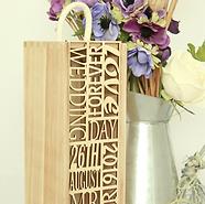 Engraved+Gift+-+Wedding+Wine+Box+10+Word