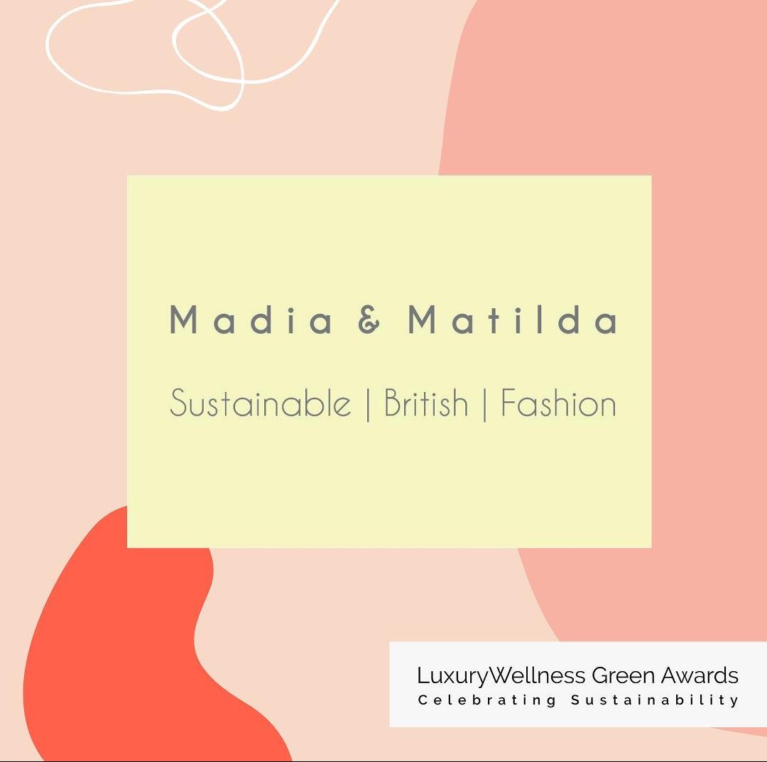 sustainability awards, madiamatilda