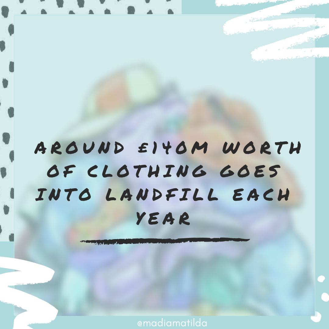 Fashion Landfill Waste - Instagram Post.