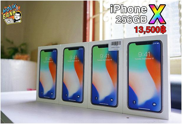 iPhone X 256GB. มือสองมีกล่องเเละชุดชาร์จ