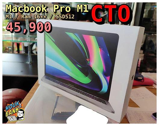 (used) macbook pro 13' M1 * ram 16 gb ssd 512 gb