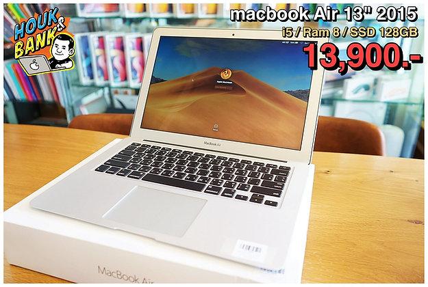 "Macbook Air 13"" 2015 มือสองสภาพดีพร้อมใช้งานครับ"