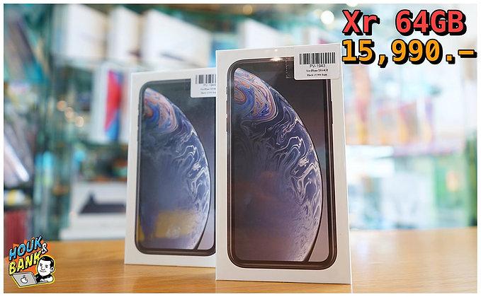 (new) iPhone XR . 64 gb ประกันศูนย์ 1 ปี