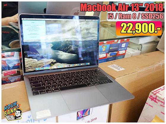 "Macbook Air 13"" 2018 มือสองรุ่นความจุ 256GB"