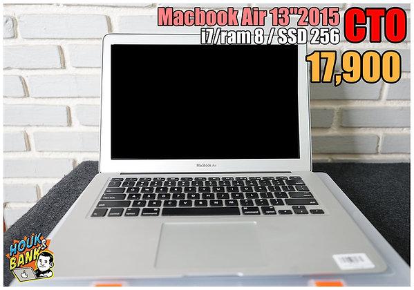 """Macbook Air 13"""" 2015 CTO สเป็คเเรงพิเศษ Core i7"""
