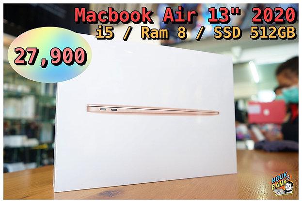 (new) macbook air 13' 2020 ssd 512 gb ram 8 gb