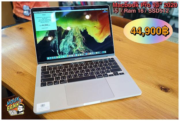 """Macbook Pro 13"""" Touch Bar 2020 มือสองครบกล่องสภาพสวย"""