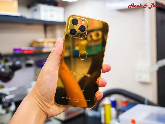 iPhone 12 pro 24K Gold Classic By Golden Ace Geneva