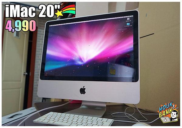 """iMac 20"""" ปี 2008 ราคาถูกครับ"""