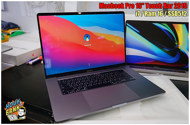"Macbook Pro 16"" มือสอง i7/16/512"