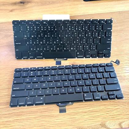 "Keyboard TH-US/UK MacBook Pro 13"" Mid 2009 - Late 2012 A1278"