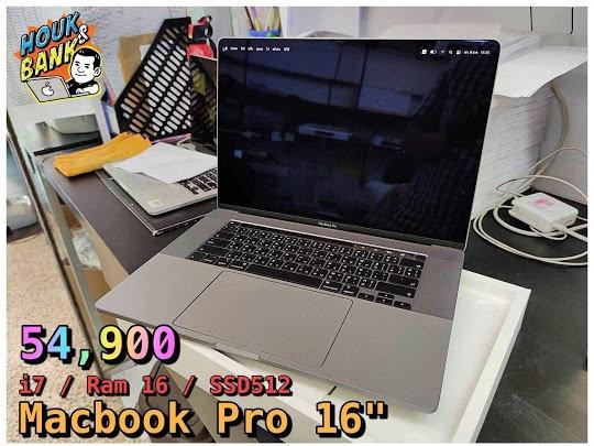 (used) macbook pro 16 inch' ปี 2019