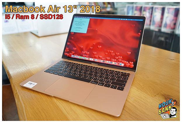 """Macbook Air 13"""" 2018 มือสองราคาถูกๆ"""