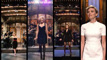 Scarlett Johansson Hosts SNL For The Fifth Time