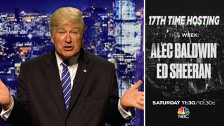 Alec Baldwin Returns as SNL Host