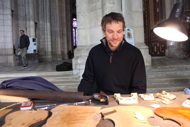 Atelier de lutherie Mathieu Bricheux