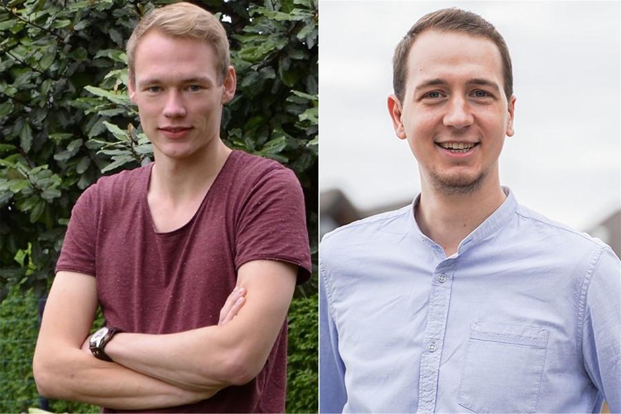 Fabian Niemann (21) tritt für die Recker FDP an. André Heeke (23) ist Kreisvorsitzender der Jungen Liberalen.