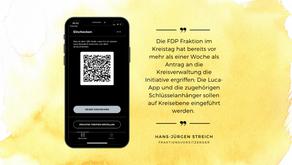 Einführung der Luca App zu langsam, zu umständlich, zu bürokratisch