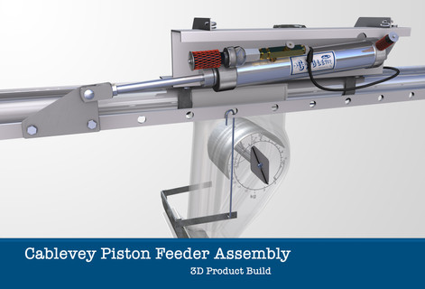 Cablevey Pneumatic Piston