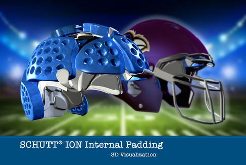 Schutt Ion Internal Padding