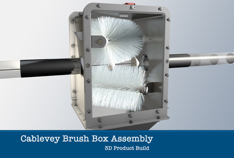 Cablevey Brush Box Assembly